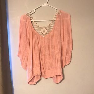 LOVE NOTES PINK BLOUSE